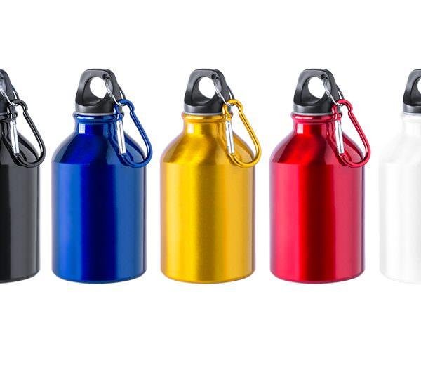 Alu-Flasche mit 300 ml Fassungsvermögen