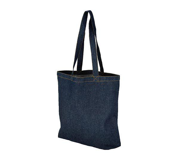 Einkaufstasche aus Jeans-Stoff
