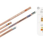 PEFC-Zertifizierte Bleistifte in verschiedenen Größen und Formen