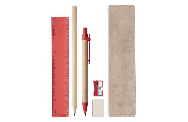 Büro / Schreibset rot