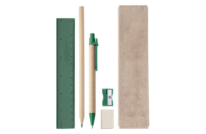 Büro / Schreibset grün
