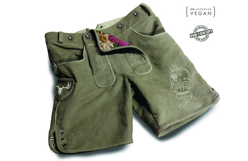 Vegane Lederhose für Damen 2