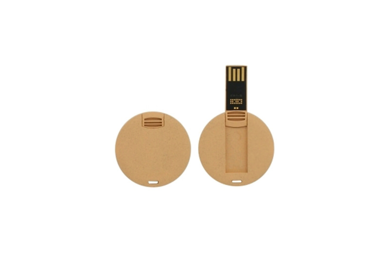 Recycling USB-Stick rund
