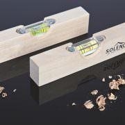 Holz-Wasserwaage 15 cm