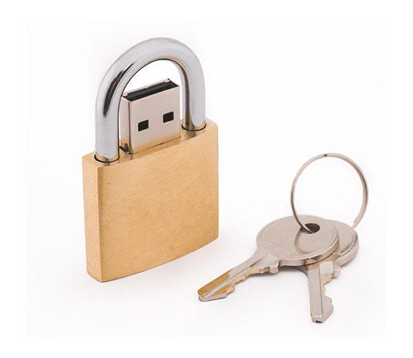 USB Schloss 1