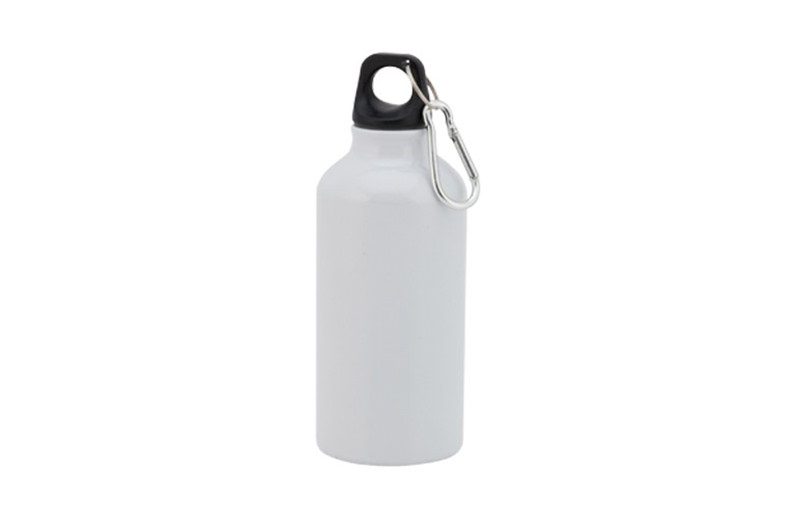 Kleine Alu Trinkflasche Weiss