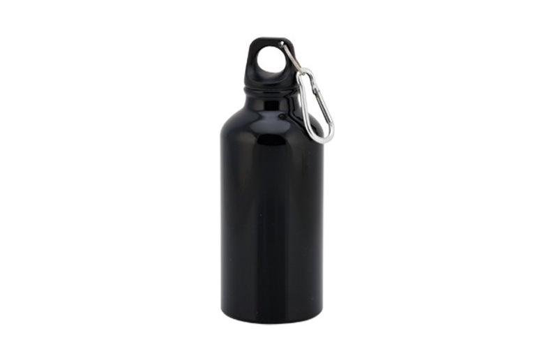 Kleine Alu Trinkflasche Schwarz