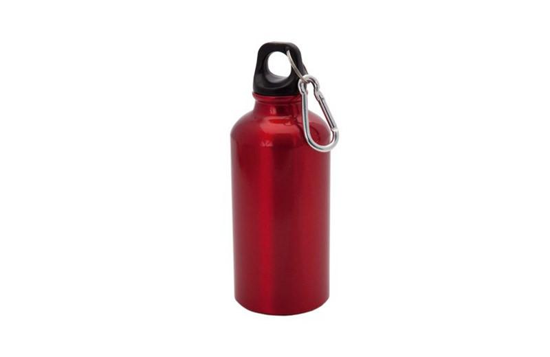 Kleine Alu Trinkflasche Rot