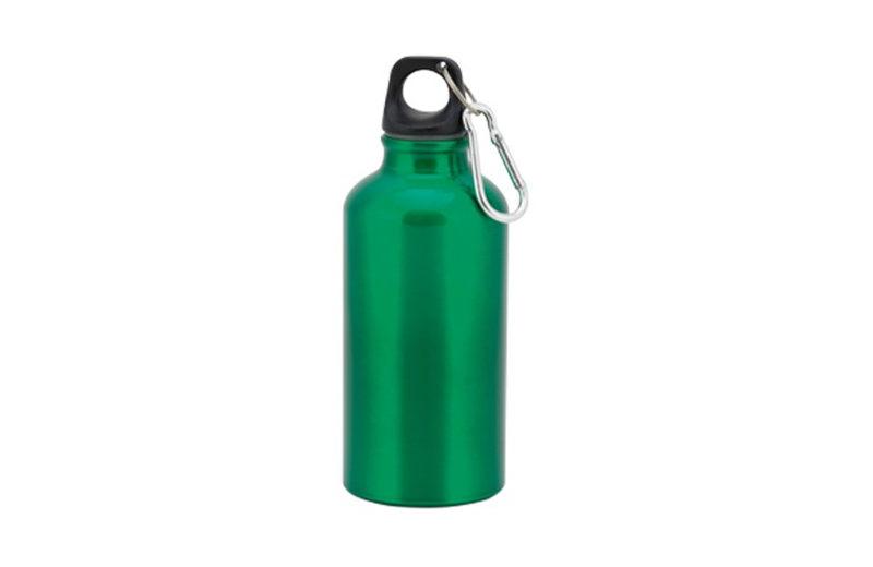 Kleine Alu Trinkflasche Grün