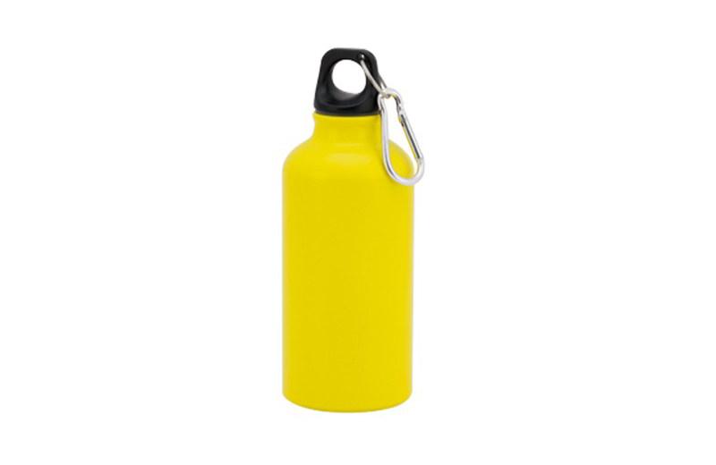Kleine Alu Trinkflasche Gelb
