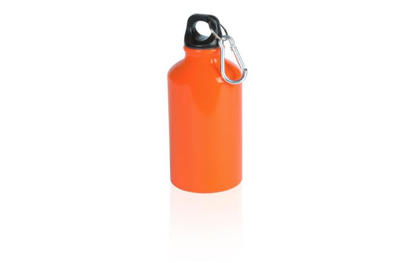 Kleine Alu Trinkflasche Orange