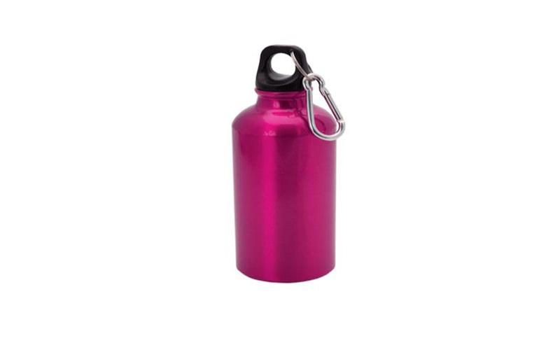 Kleine Alu Trinkflasche Fuchsie