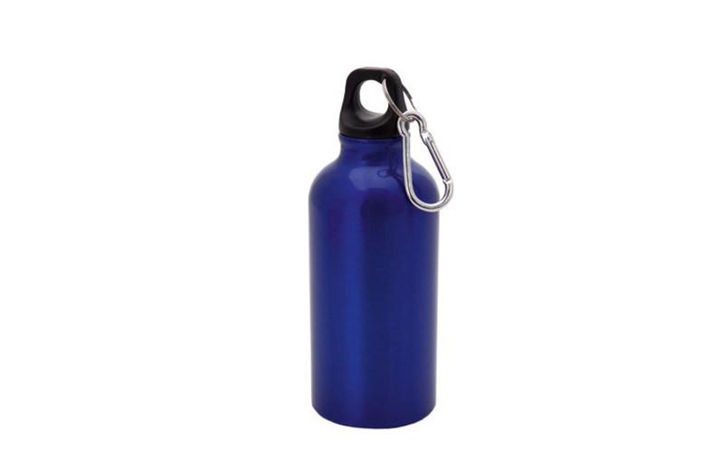 Kleine Alu Trinkflasche Blau