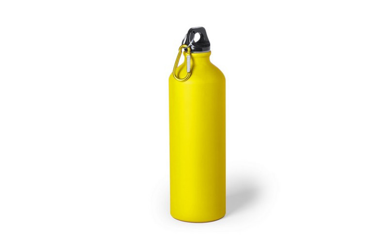 Große Alu-Trinkflasche gelb