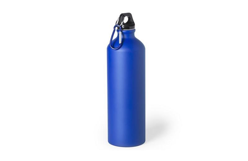Große Alu-Trinkflasche Blau