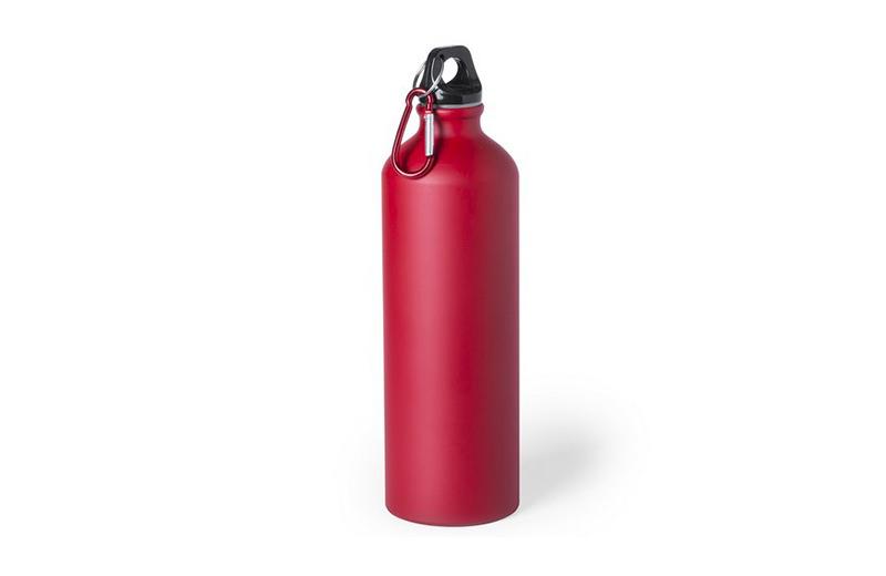 Große Alu-Trinkflasche Rot