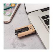 USB-Stick Ahornholz Slider mit Werbefläche