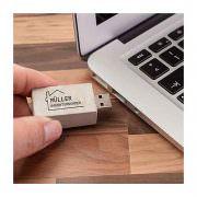 USB-Stick aus Beton mit Werbedruck