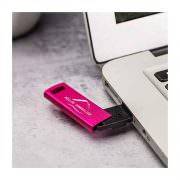 USB Stick Metallic colour pink
