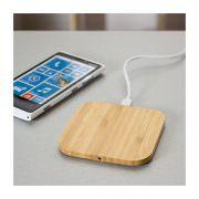 Wireless Bambusholz Charger Eckig