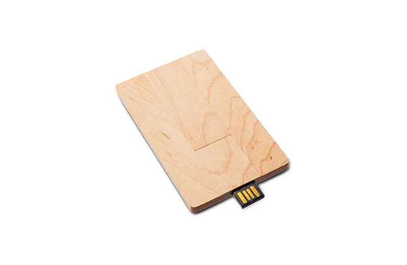 USB Card Wood blanko