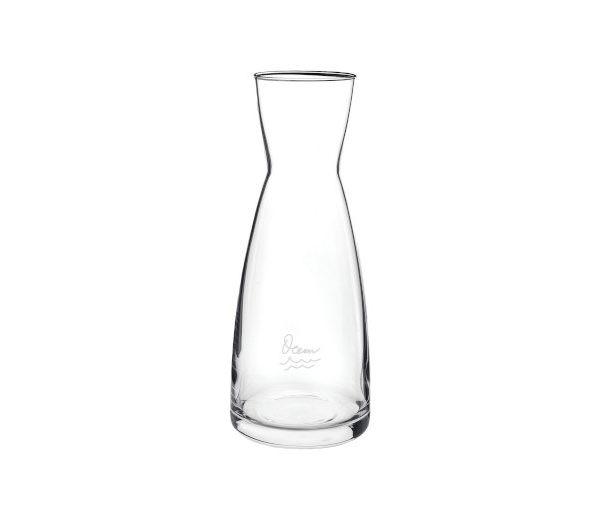 Edel Glas-Karaffe, transparent