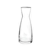Edel Glas-Karaffe, mit Werbefläche