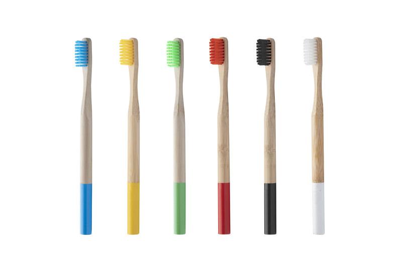 Bambus Zahnbürste Budget alle Farben