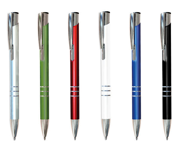 Metall Kugelschreiber Budget alle Farben