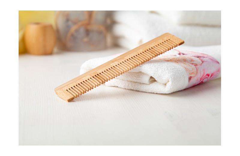 Natur Bambus-Kamm aus Holz