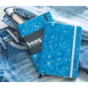 Upcycle Recycle Textil Notizbuch