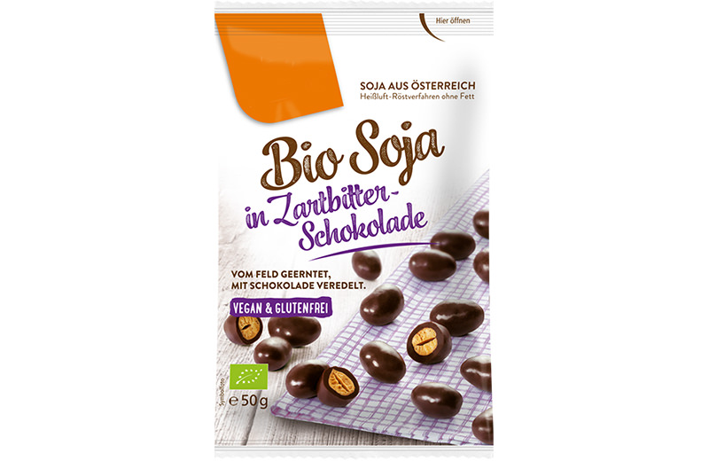 Schoko Saaten Bio Saaten in Zarbitter Schokolade