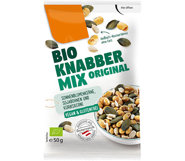 Snack Mischungen Bio Knabber Mix Original