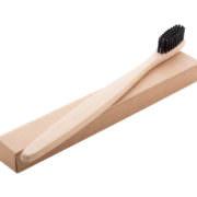 Bambus Zahnbürste Natur mit Pappschachtel