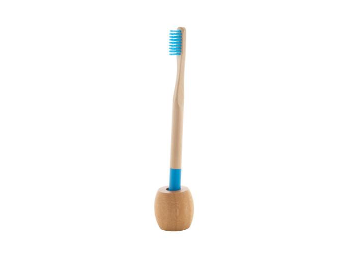 Natur Bambus-Zahnbürstenhalter in Kraftpapierbox