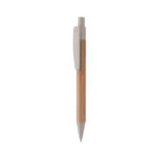 Boho Bambus-Kugelschreiber weiß