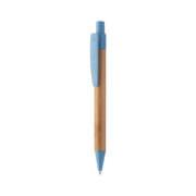 Boho Bambus-Kugelschreiber blau