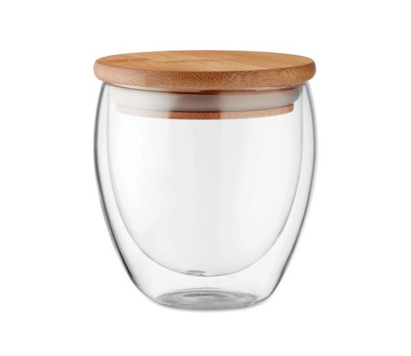 Bambus Borsilikat-Glas small