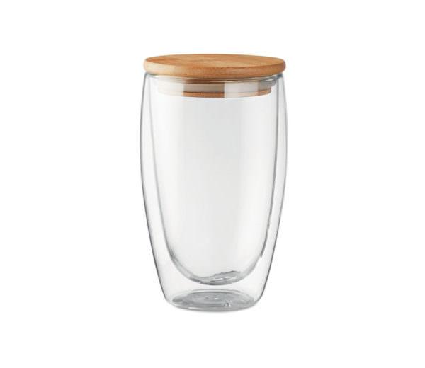 Bambus Borsilikat-Glas large