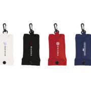 Faltbare rPET Tasche Etui alle Farben