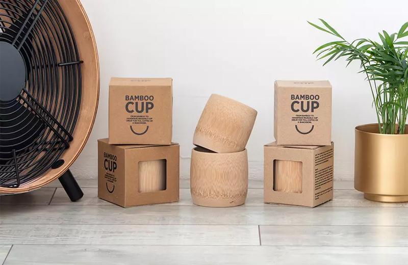 Bambus Tasse Werbeartikel