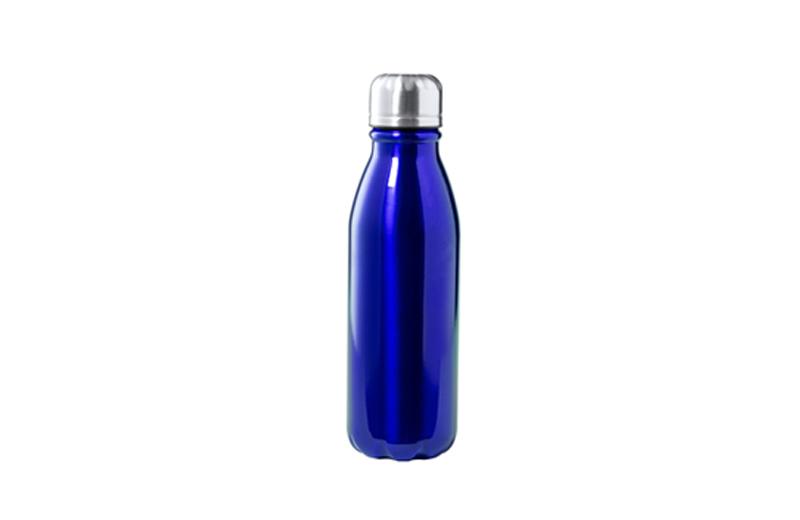 Alu-Bottle BUDGET blau