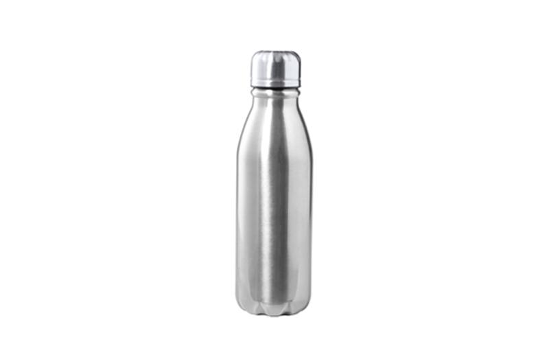 Alu-Bottle BUDGET silber Promotional Bottle