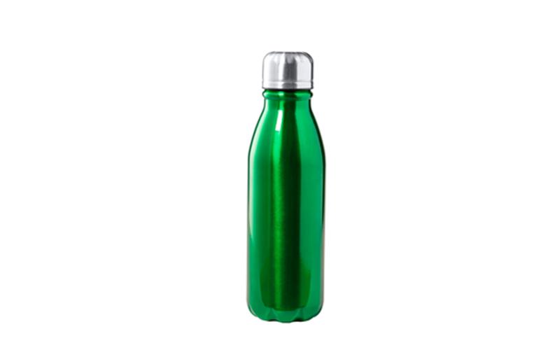 Alu-Trinkflasche BUDGET grün